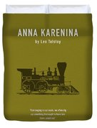 Anna Karenina By Leo Tolstoy Greatest Books Ever Series 024 Duvet Cover