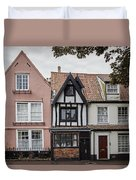 Anna Sewell's House In  Great Yarmouth Duvet Cover