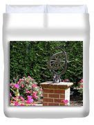 Annapolis Garden Ornament Duvet Cover