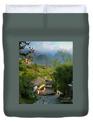 Annapurna Village Duvet Cover