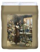 Anne Hutchinson, 1591-1643 Duvet Cover
