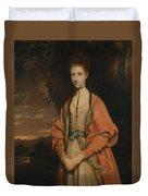 Anne Seymour Damer  Duvet Cover