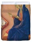 Annunciation Fragment 1311 Duvet Cover