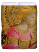 Annunciatory Angel Duvet Cover