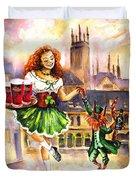 Anny Kilkenny Duvet Cover