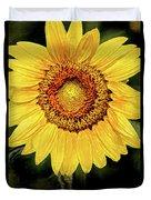 Another Artistic Sunflower Duvet Cover