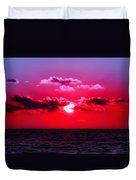 Another Day Another Sunset Duvet Cover