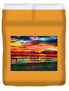Another Day At The Beach Duvet Cover