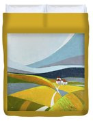 Another Day On The Farm Duvet Cover