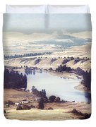 Another Flathead River Image Duvet Cover