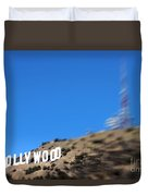 Another Hollywood Sign Duvet Cover