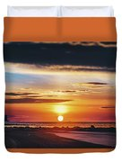Another Island Morning Duvet Cover