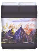 Another Land Duvet Cover