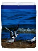 Another One Take A Tern Duvet Cover