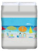 Another Perfect Beach Day Duvet Cover