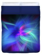 Another Space. Mystery Of Colors Duvet Cover