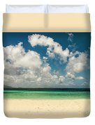 Anguilla - Another Spectacular Beach  Duvet Cover