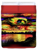 Another Wicked Sunset Duvet Cover