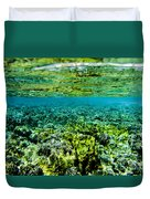 Ant Atoll Reef Duvet Cover