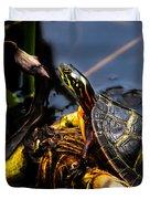 Ant Meets Turtle Duvet Cover