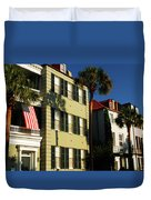 Antebellum Row Hosues Duvet Cover