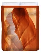 Antelope Canyon - Arizona's Sandstone Cathedral Duvet Cover by Christine Till