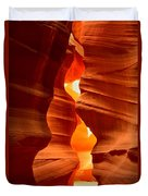 Antelope Canyon Candle Duvet Cover