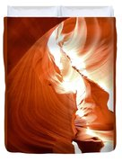 Antelope Canyon Scuplture Duvet Cover
