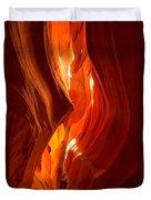 Antelope Canyon Wavy Abstract Duvet Cover