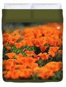 Antelope Valley California Poppies Duvet Cover