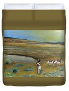 Antelopes Duvet Cover