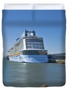 Anthem Of The Seas Southampton Duvet Cover