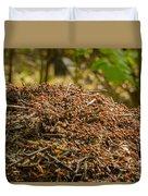 Anthill In Forest Duvet Cover
