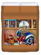 Anthony Calvillo Duvet Cover
