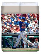 Anthony Rizzo Duvet Cover