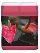 Anthurium Duvet Cover