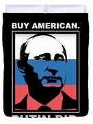 Anti Trump Art Impeach President Resist Putin Dark Duvet Cover