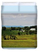Antietam Battlefield And Mumma Farm Duvet Cover