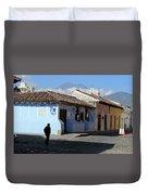 Antigua Guatemala Streetscene Duvet Cover