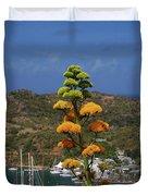 Antigua National Flower  Duvet Cover