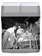 Antineutron Discovery Team, 1956 Duvet Cover
