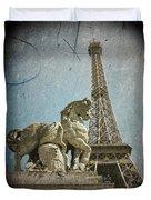 Antiquation Duvet Cover by Andrew Paranavitana