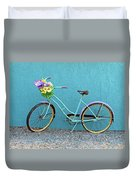 Antique Bicycle Duvet Cover