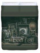 Antique Camera Duvet Cover
