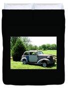 Antique Car 1 Duvet Cover by Douglas Barnett