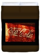 Antique Coca-cola Cooler II Duvet Cover