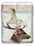 Antique Deer Duvet Cover