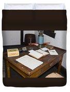 Antique Desk Duvet Cover