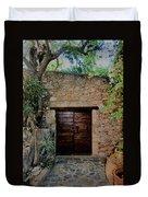 Antique Door Duvet Cover