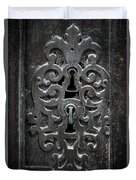 Antique Door Lock Duvet Cover